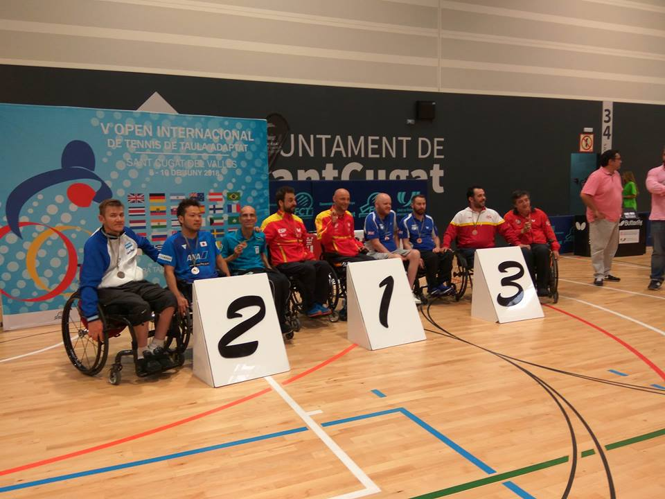 Barcelona 2018 Para TT Tournament aponomi se Stamou